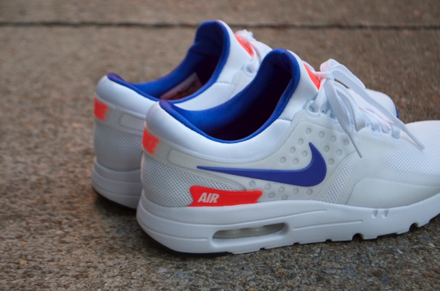 new product a3be0 92970 ... subtle blue on the sockliner, Swoosh and outsole and infrared hits on  the tongue and heel give the shoe a pop associated with the beloved Air Max  180.
